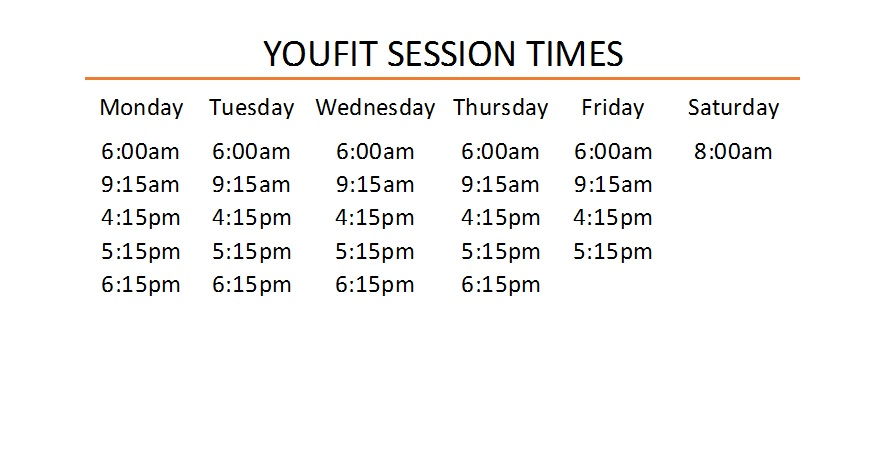 Our Timetable
